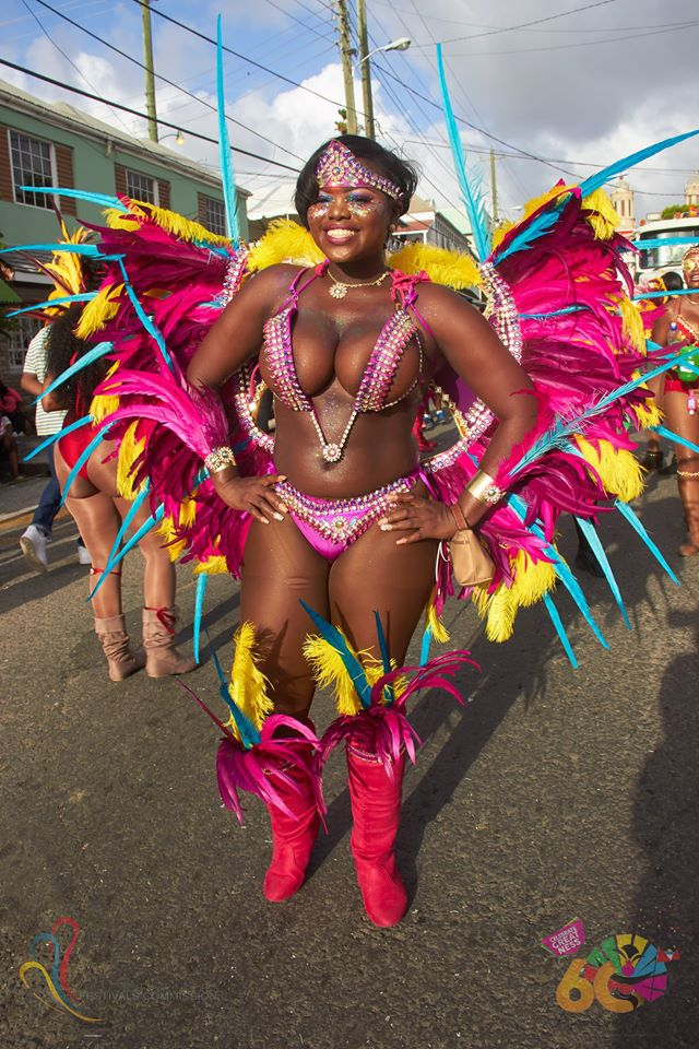 Antigua Carnival hot pink