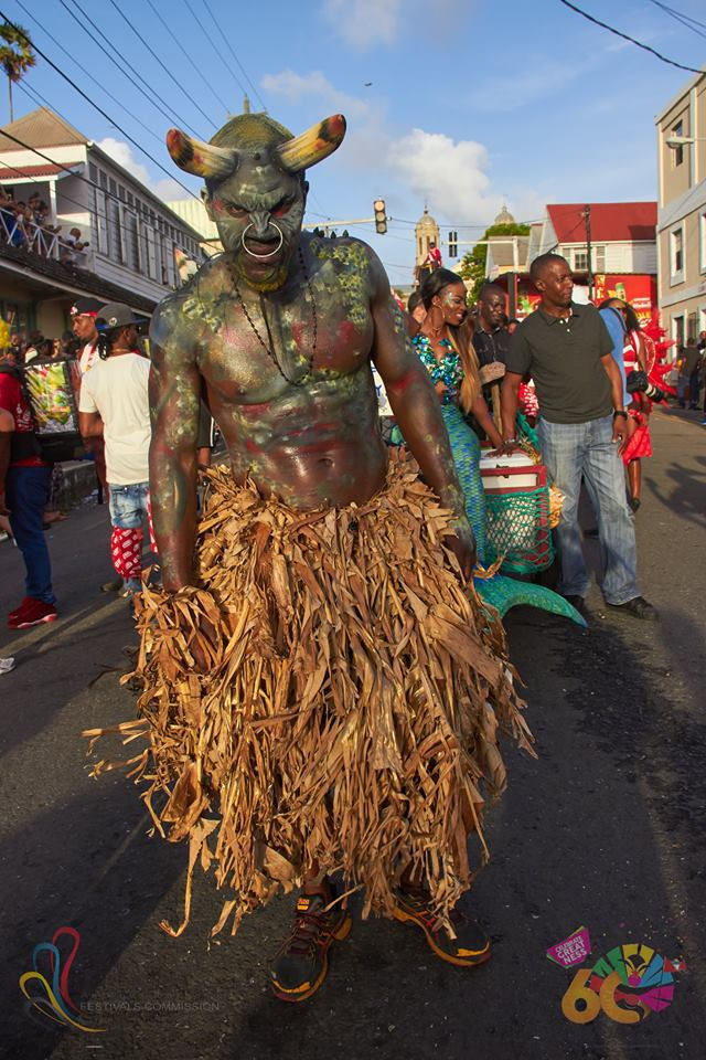 Antigua Carnival take the bull by the horns