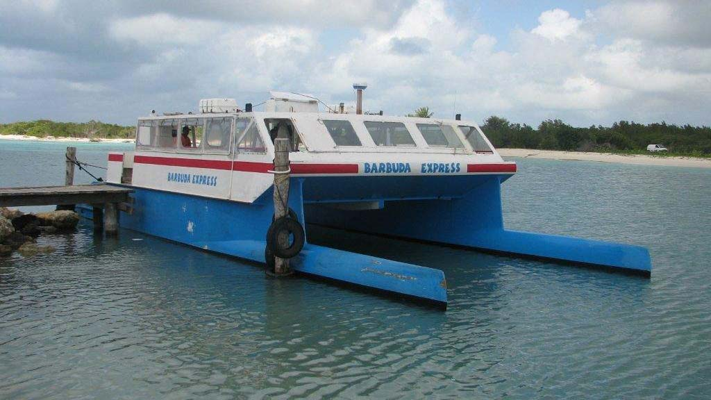 Barbuda Express front view