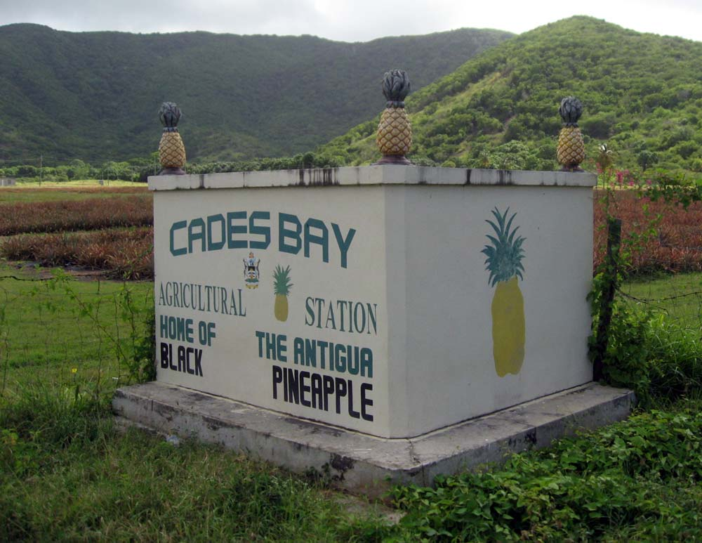 Cades Bay Agricultural Station sign