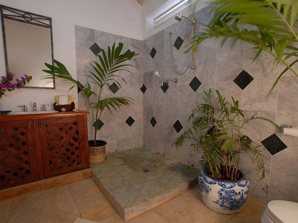 Carib House bathroom