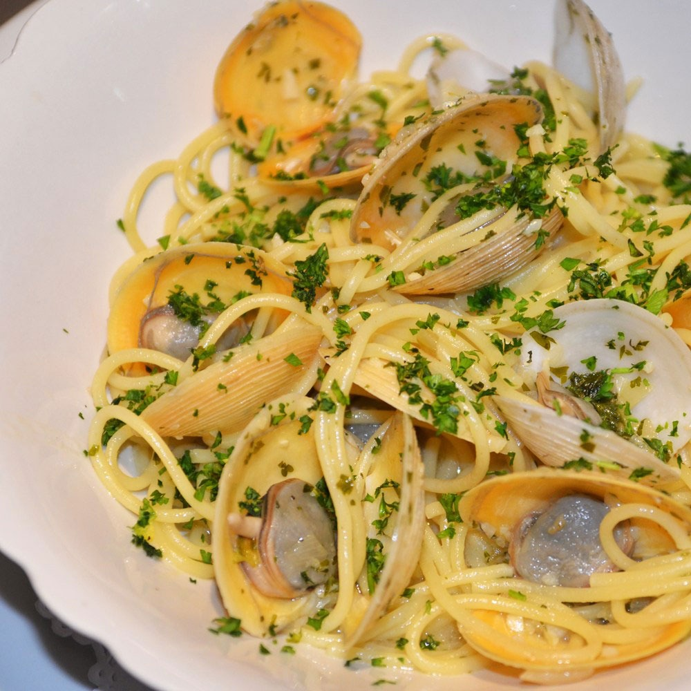 Cecilia's pasta with clams