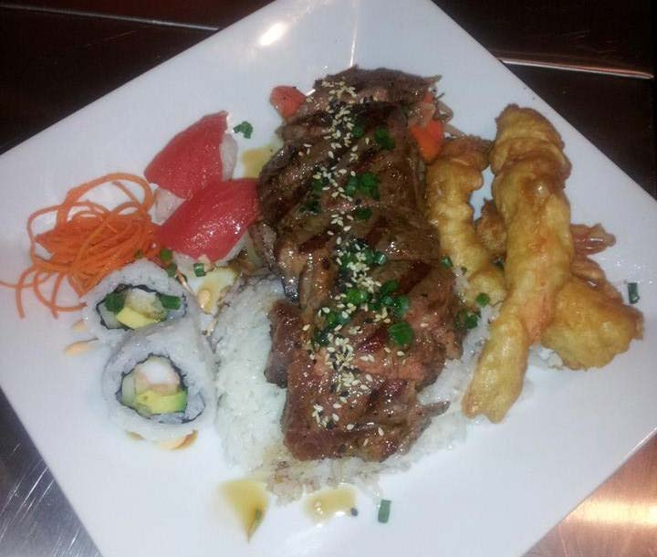Club Sushi steak