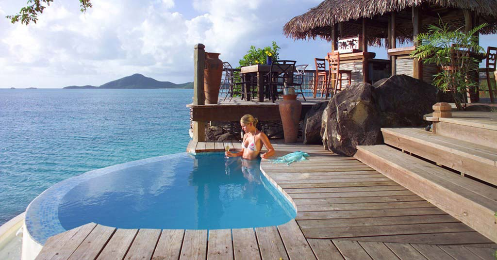 Cocobay Resort home plunge pool