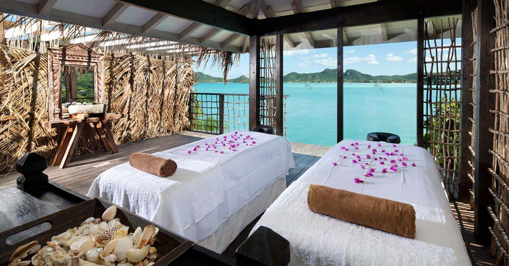 Cocobay Resort massage room