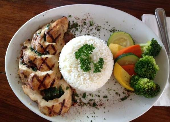Crow's Nest grilled chicken