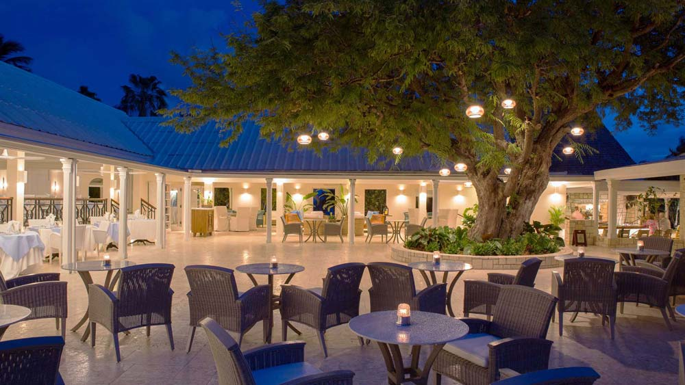 Curtain Bluff Tamarind Tree restaurant