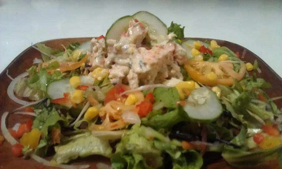 Darkwood Restaurant salad