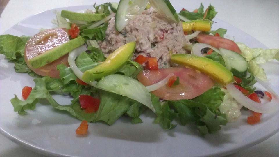 Darkwood Restaurant tuna salad