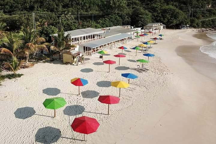 Darkwood Restaurant umbrellas