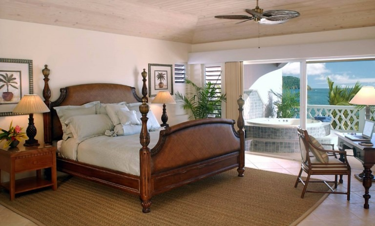 Curtain Bluff - Grace Master Bedroom