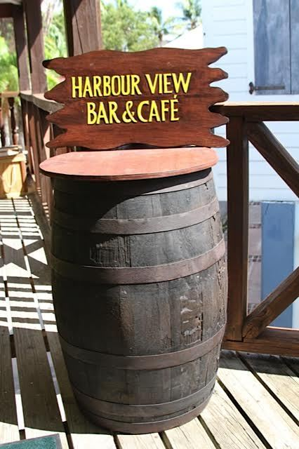 Harbour View entry barrel