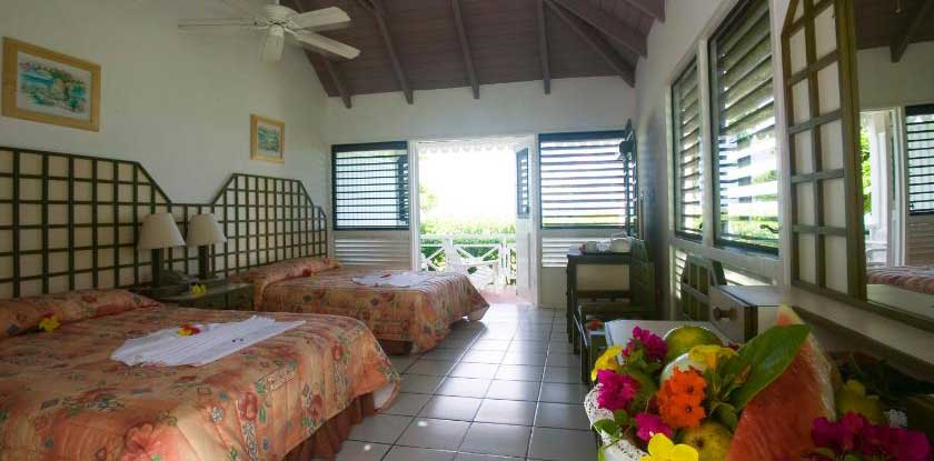 Hawksbill double bedroom
