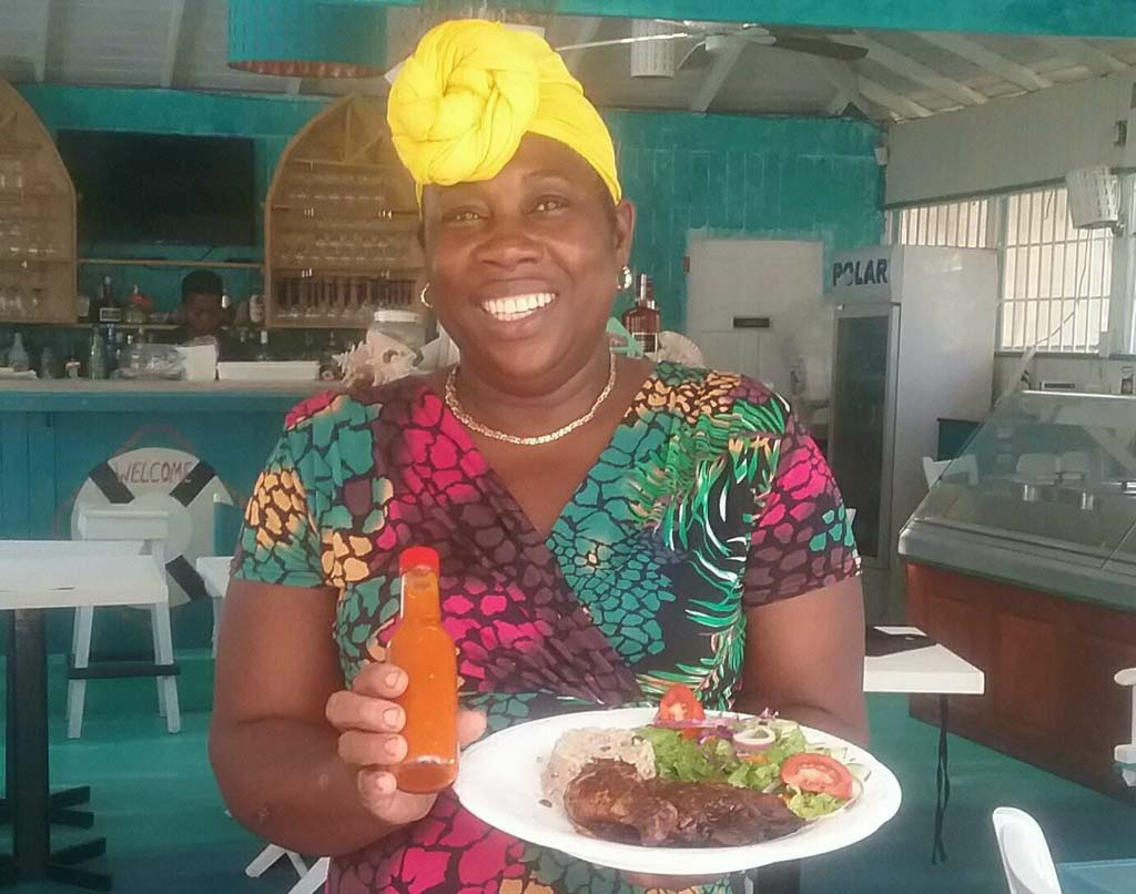 Island Fusion service with a smile
