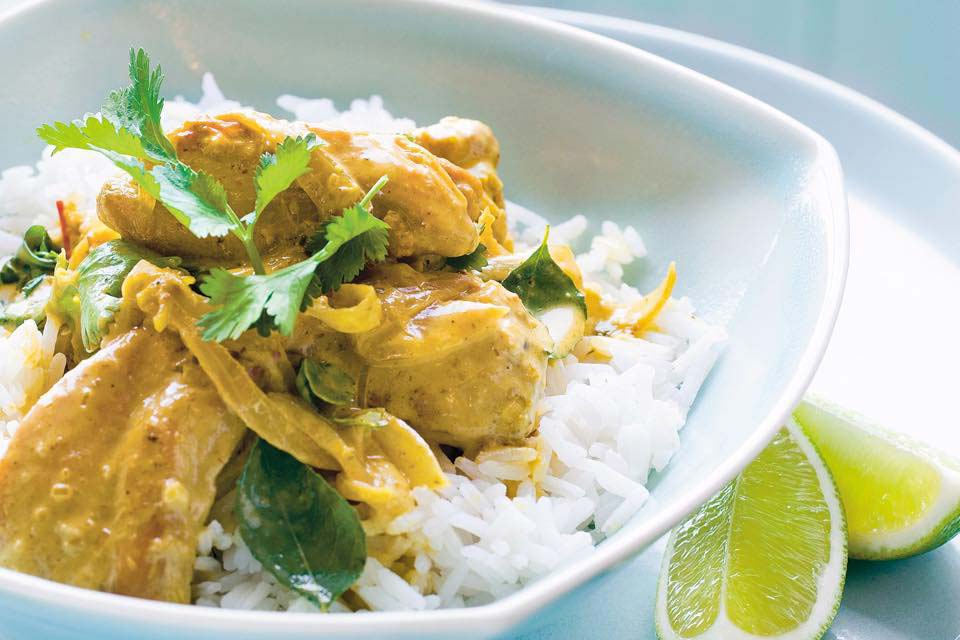 Jackson's chicken curry