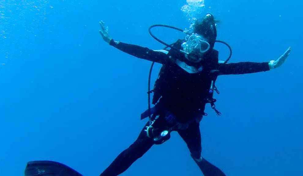 Jolly dive diver
