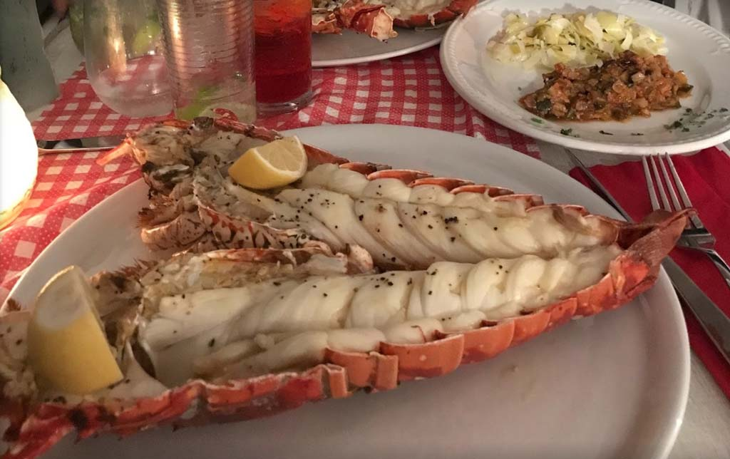 La Brasserie lobster