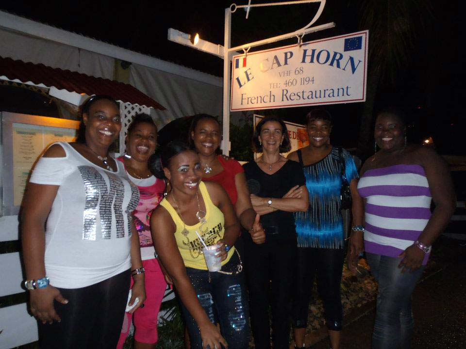 Le Cap Horn great staff