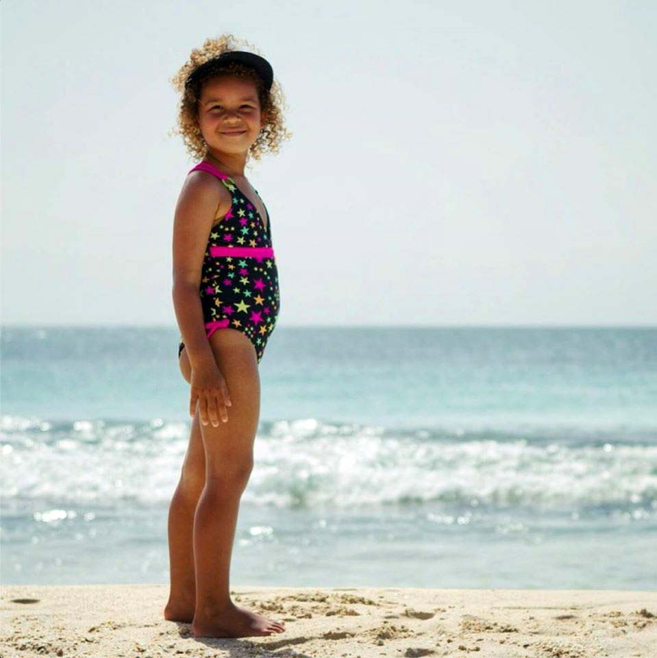 Makai child on beach