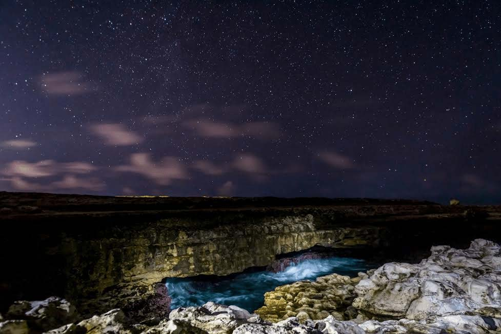 Mark Blan Photography Devils Bridge at night