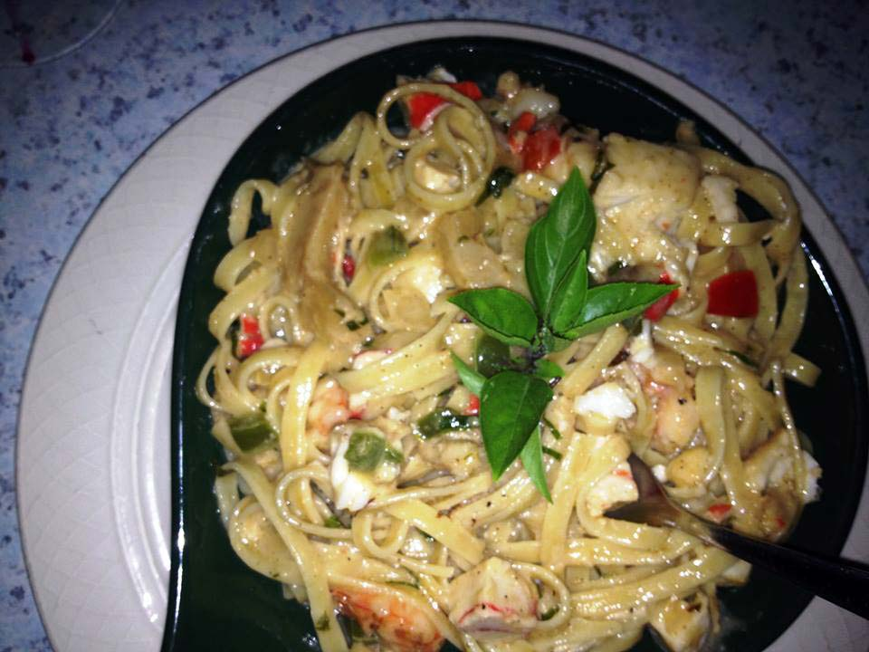Millers by the Sea lobster pasta
