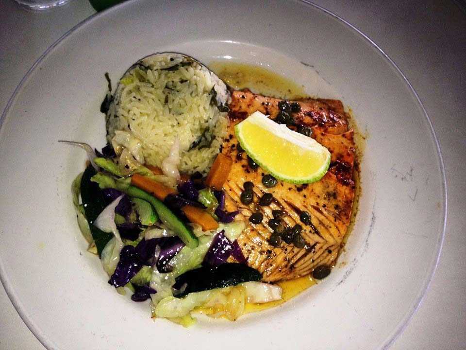 Millers by the Sea salmon