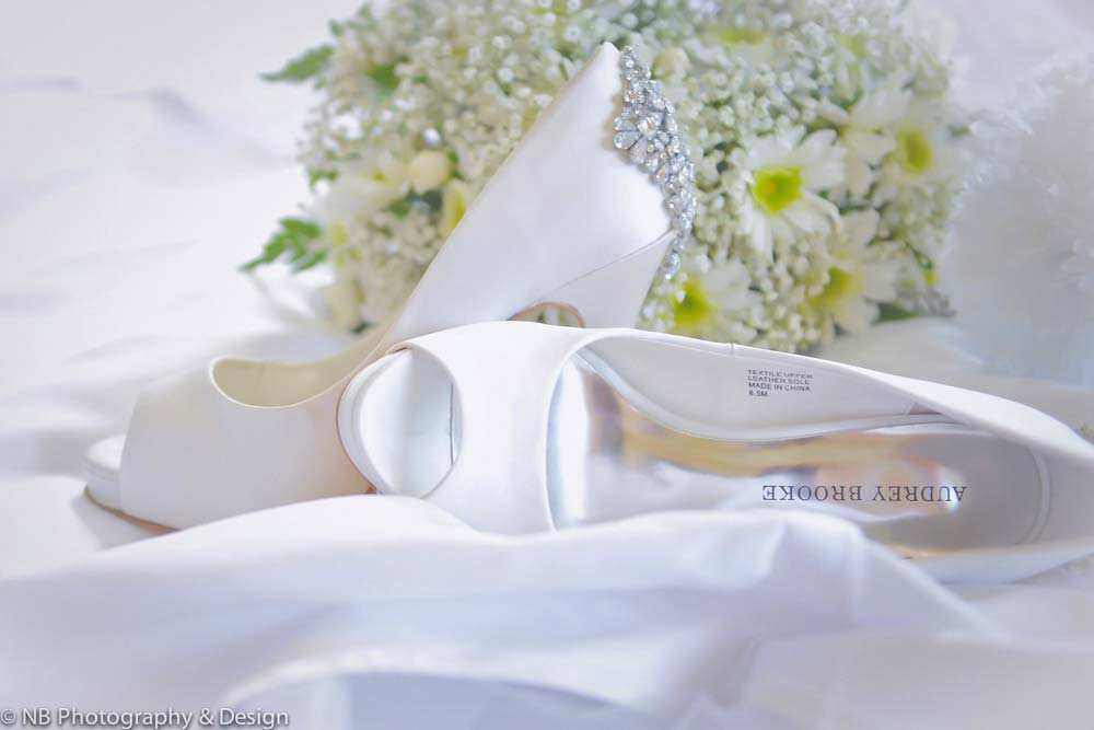 NB Photography wedding shoes
