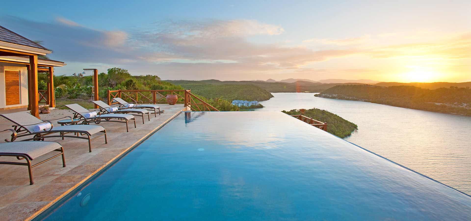 Nonsuch Bay Resort infinity pool view