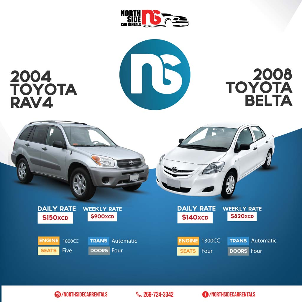 North Side Car Rentals flyer