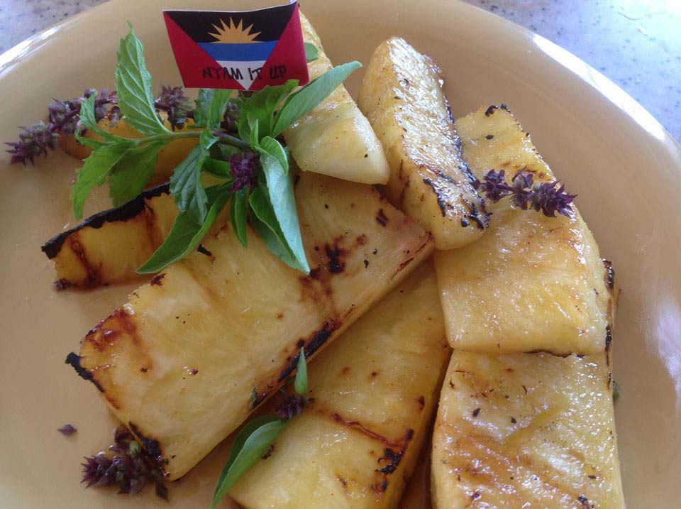 Nyam It Up grilled pineapple