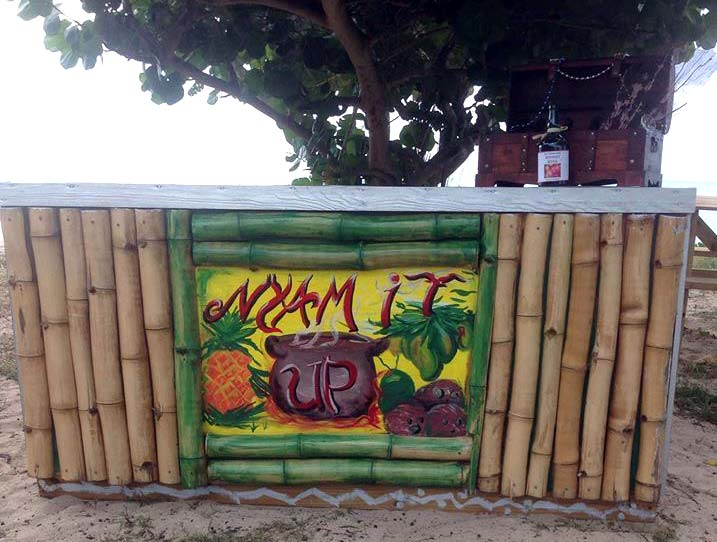 Nyam It Up outdoor sign