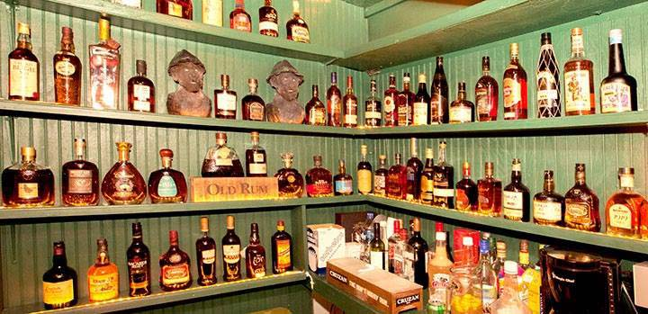 Papa Zouk rum selection