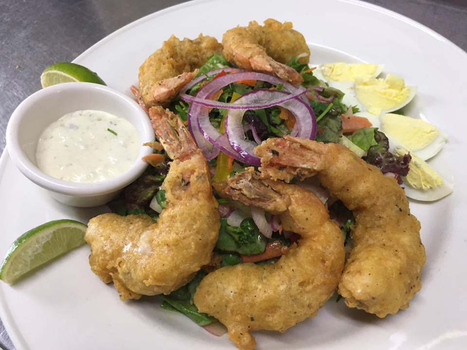 Papas By The Sea fried shrimp