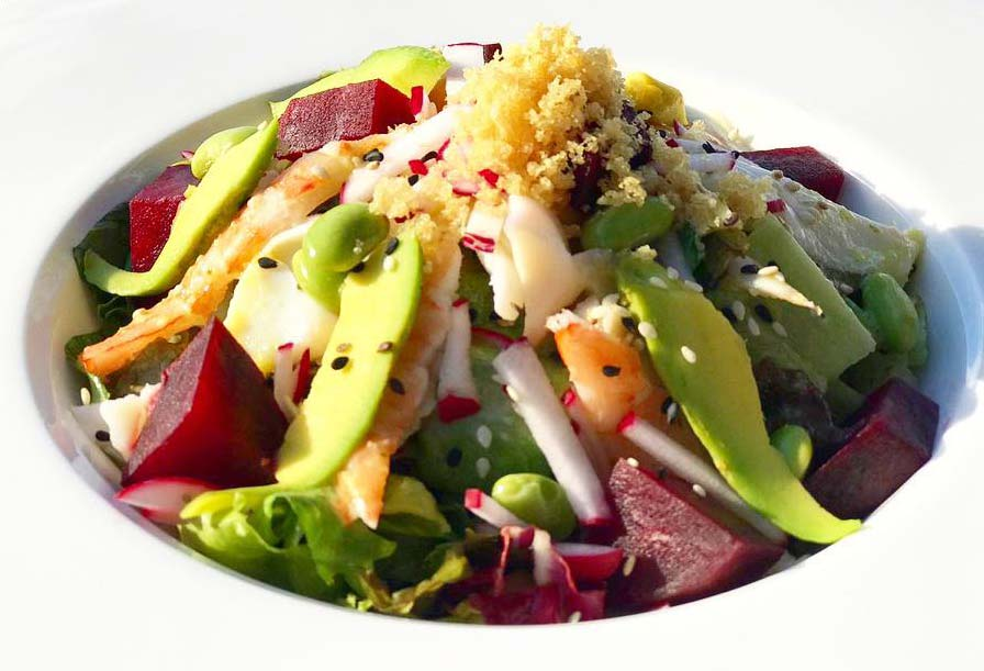 South Point Restaurant salad