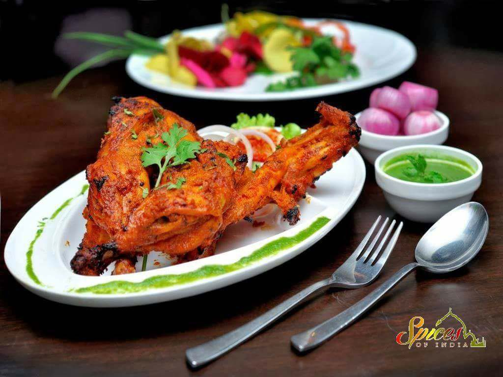 Spices of India Tandoori chicken