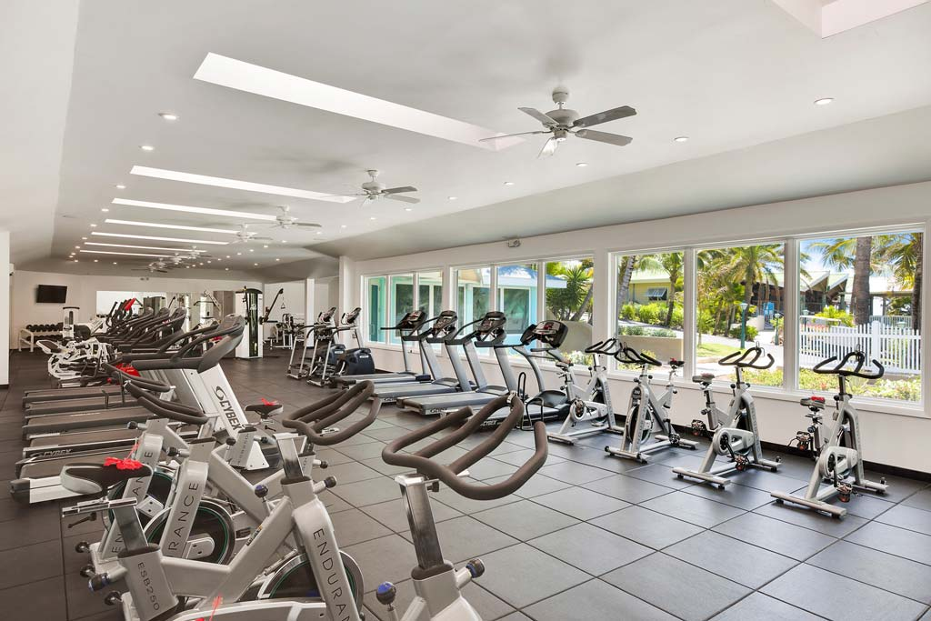 St James Club gym