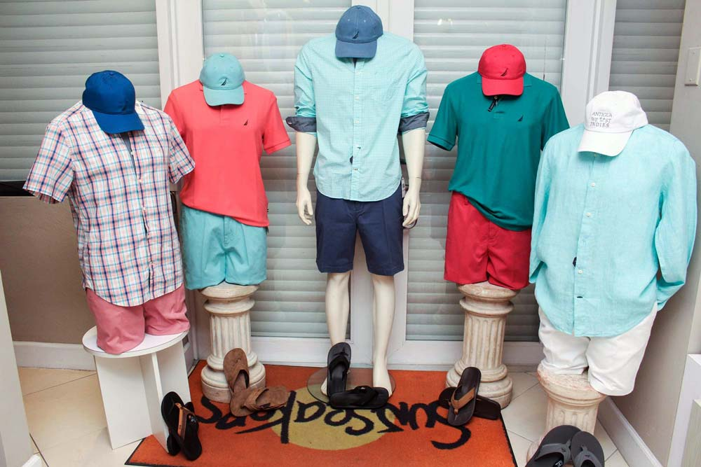 Sunseakers colorful menswear