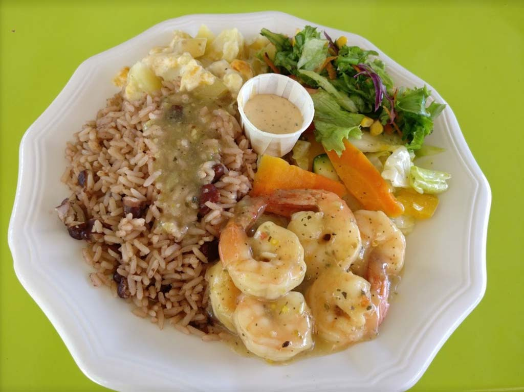 Sweet-T's shrimp peas and rice