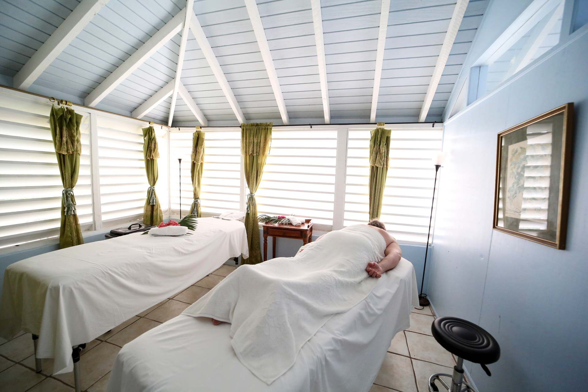 The Great House Massage Room