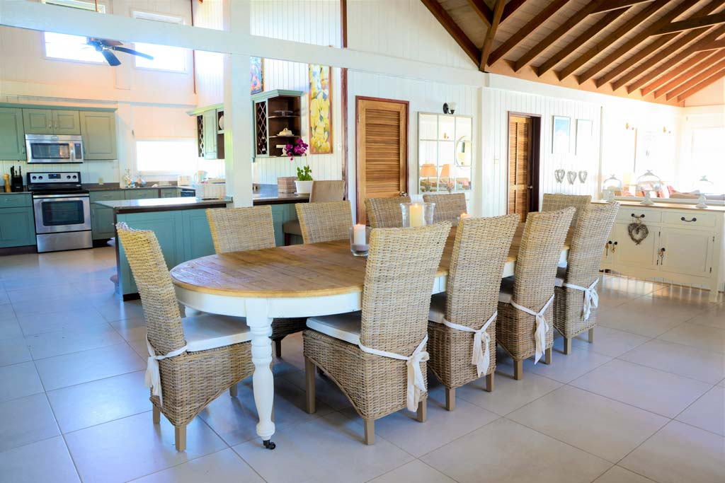 The Sea House dining area