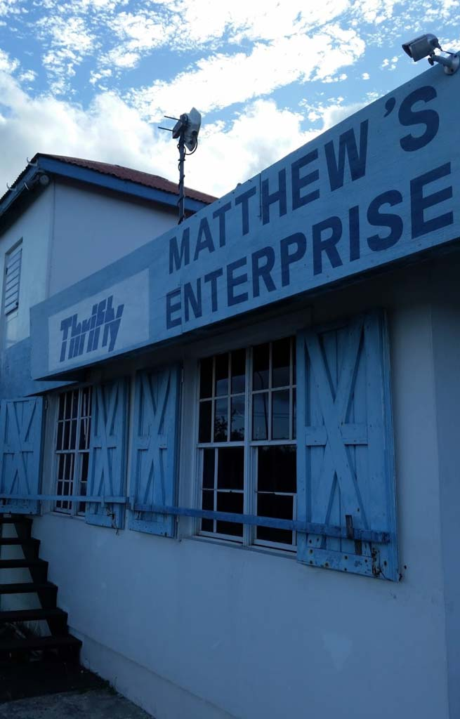 Thrifty exterior