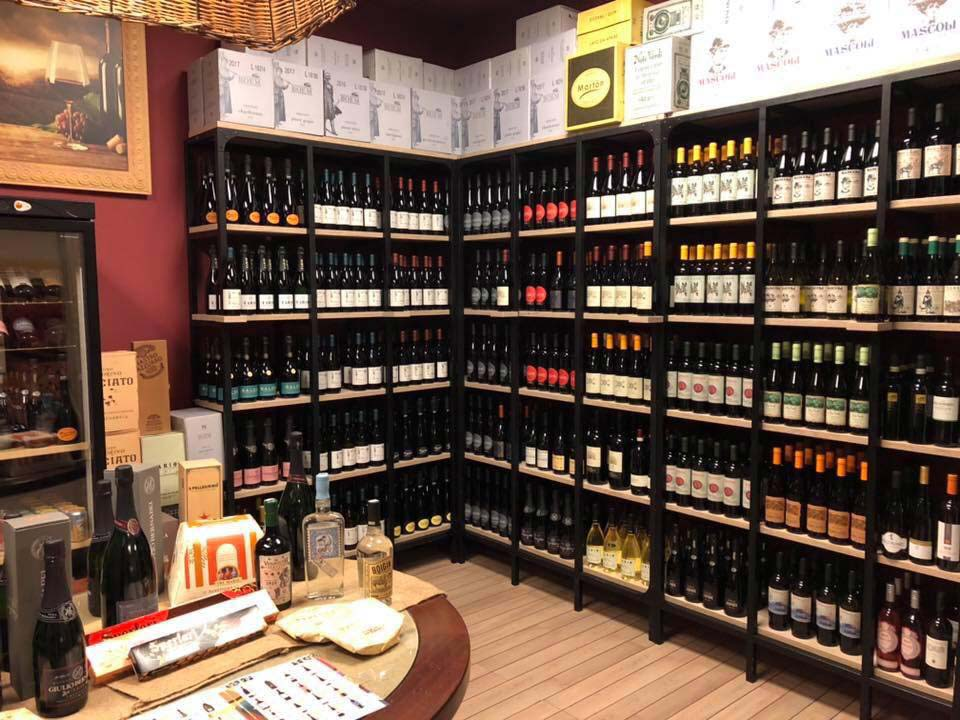 Ticchio wine selection