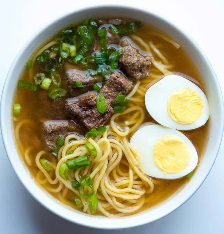 Touloulou Beef Egg Noodle Soup