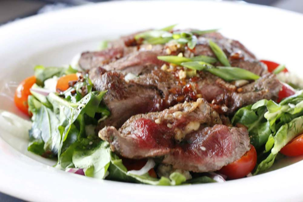 Touloulou Thai beef salad