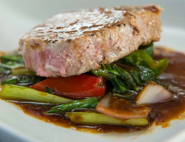 Touloulou seared tuna