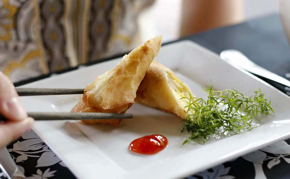 Touloulou spring roll