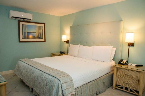 Trade Winds Hotel bedroom