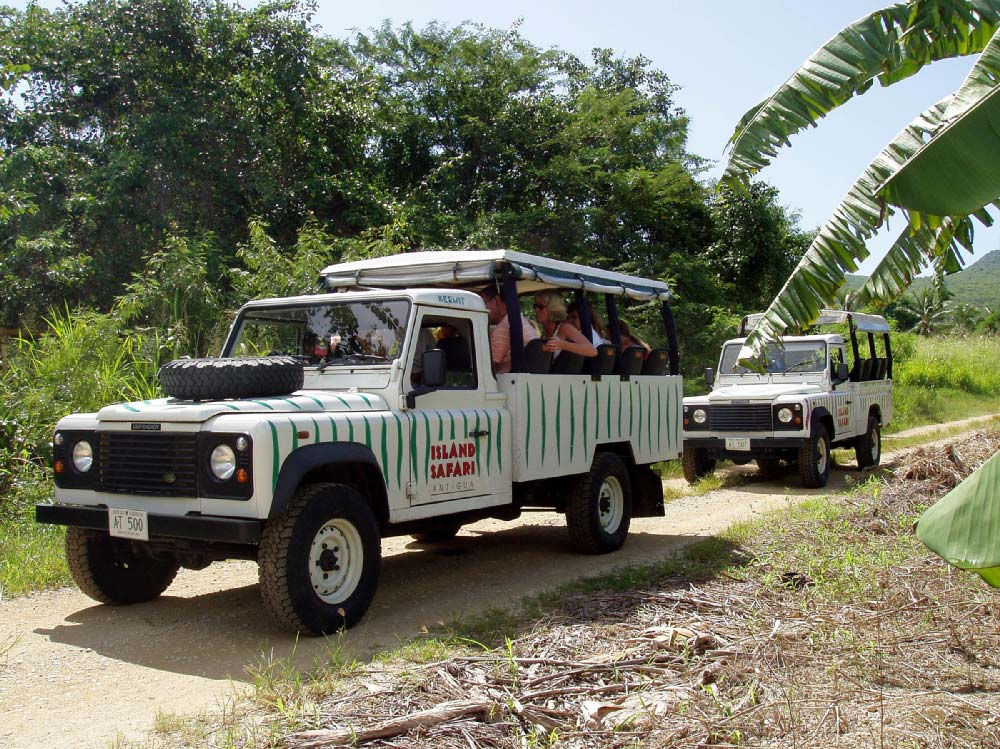 Tropical Adventures Island Safari off-road