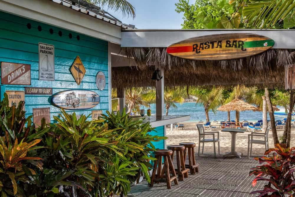 Verandah Resort beach bar