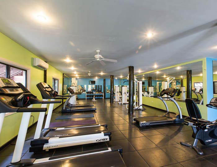 Verandah Resort fitness center
